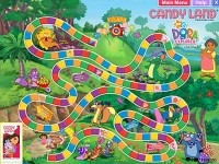 Candy Land: Dora the Explorer Edition Game screenshot 2