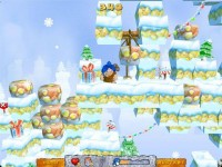 Carl the Caveman Christmas Adventures Game screenshot 2