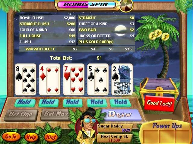 Casino Island To Go Game screenshot 3