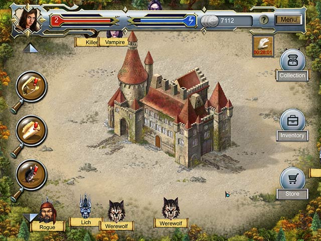 Castle Secrets: Between Day and Night Game screenshot 1