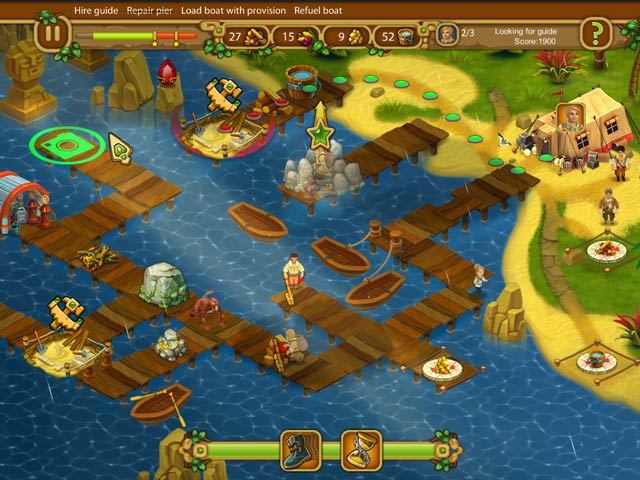 Chase for Adventure 2: The Iron Oracle Collector's Edition Game screenshot 1