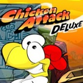 Free Chicken Attack Deluxe Game
