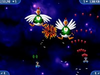 Chicken Invaders 2 Game screenshot 1