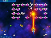 Chicken Invaders 3 Game screenshot 2