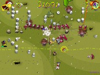 Chicken Rush Deluxe Game screenshot 1