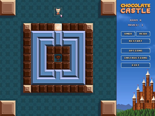Chocolate Castle Game screenshot 1