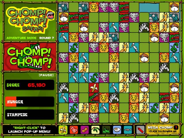 Chomp! Chomp! Safari Game screenshot 3