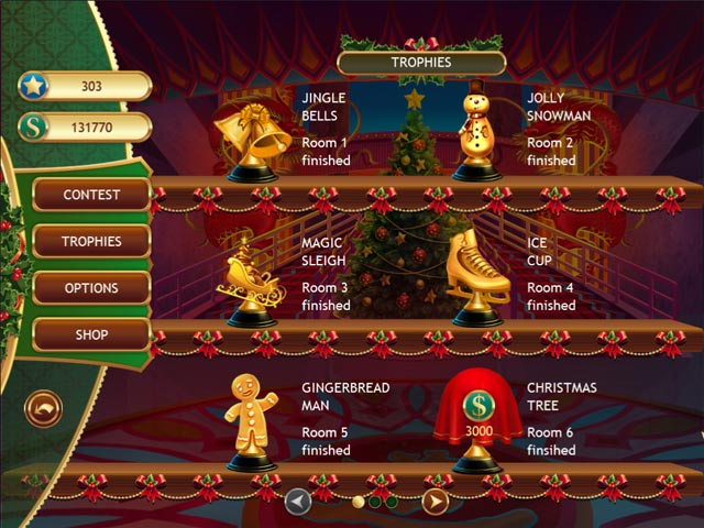 Christmas Griddlers Game screenshot 2
