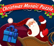 Free Christmas Mosaic Puzzle Game