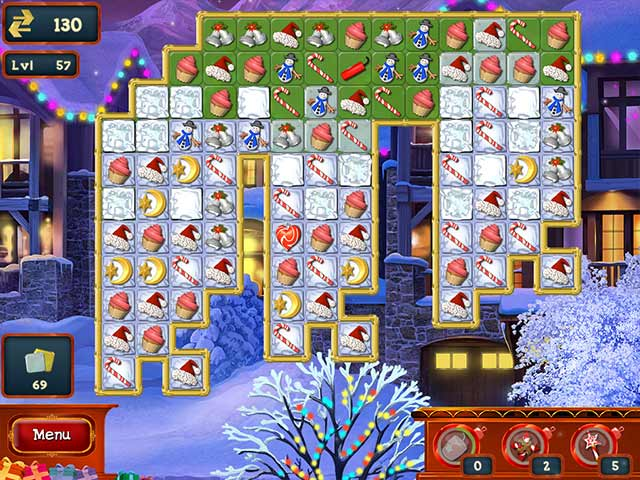 Christmas Puzzle 3 Game screenshot 1
