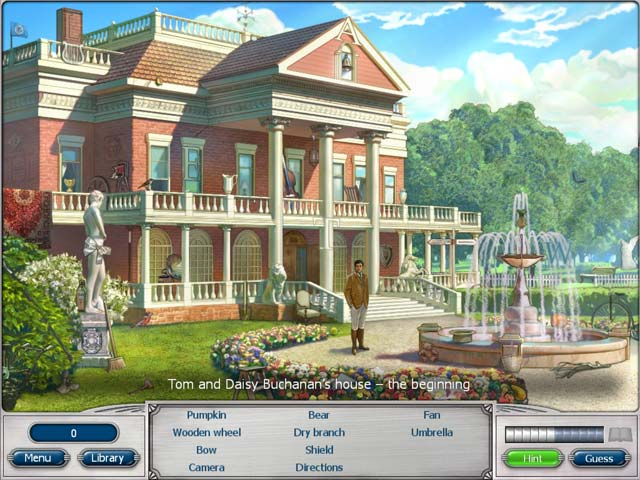 Classic Adventures: The Great Gatsby Game screenshot 1