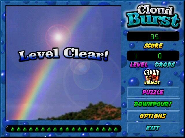 Cloud Burst Game screenshot 2
