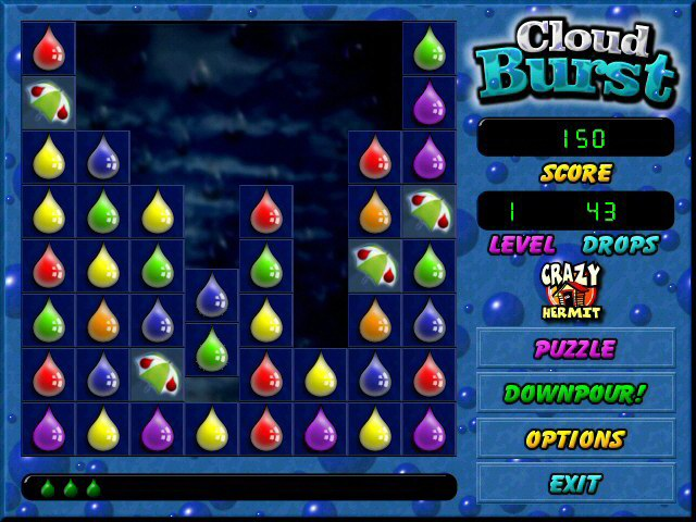 Cloud Burst Game screenshot 3