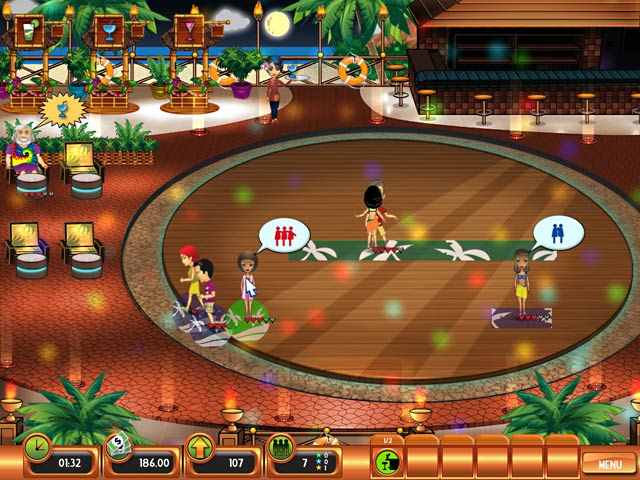 Club Paradise Game screenshot 1