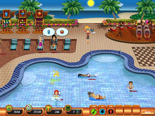 Club Paradise Game screenshot 2