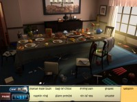 CLUE Accusations and Alibis Game screenshot 1