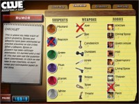 CLUE Accusations and Alibis Game screenshot 3