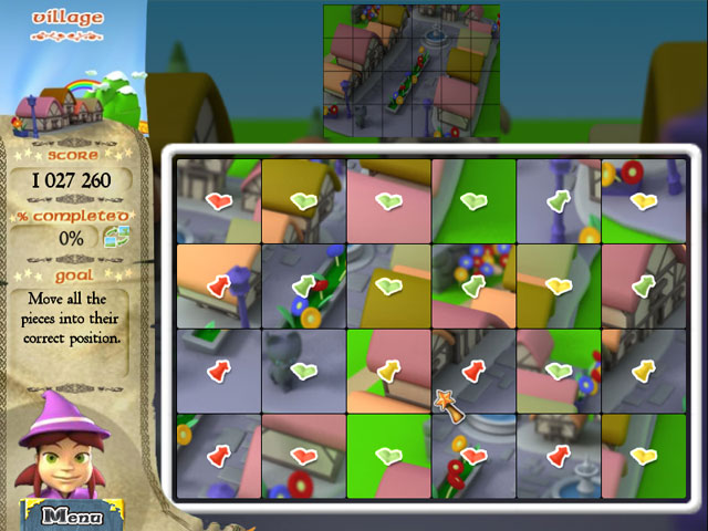 Color Trail Game screenshot 2