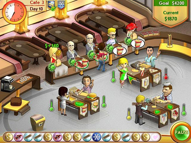 free online games of cooking shop