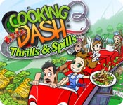 Free Cooking Dash 3: Thrills and Spills Game