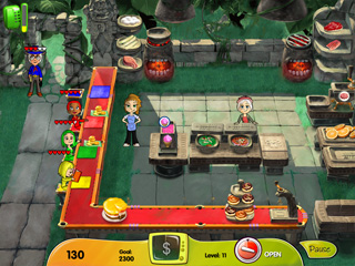 Cooking Dash: DinerTown Studios Game screenshot 2