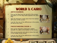 Curse of the Pharaoh: Napoleon's Secret Strategy Guide Game screenshot 1