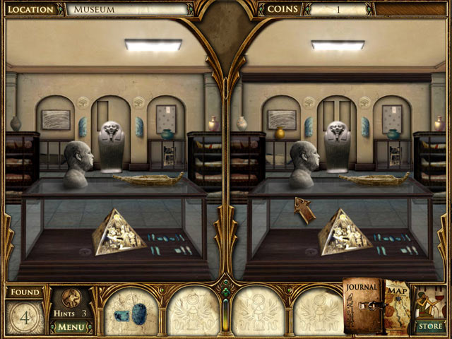 Curse of the Pharaoh: The Quest for Nefertiti Game screenshot 2