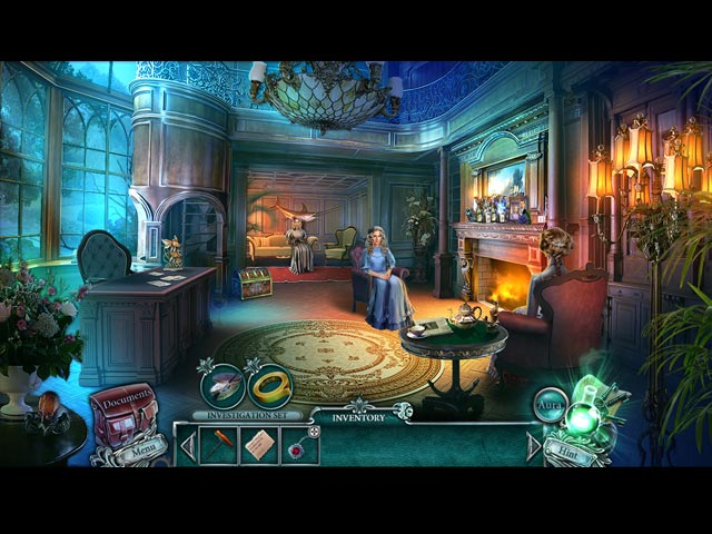 Cursed Cases: Murder at the Maybard Estate Game screenshot 1