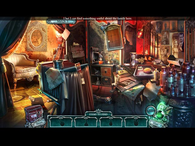 Cursed Cases: Murder at the Maybard Estate Game screenshot 2