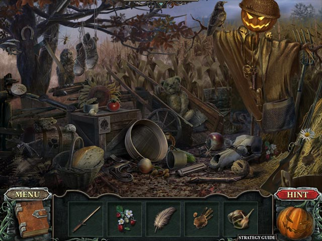 Cursed Fates: The Headless Horseman Collector's Edition Game screenshot 2