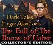Free Dark Tales: Edgar Allan Poe's The Fall of the House of Usher Collector's Edition Game