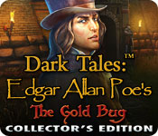 Free Dark Tales: Edgar Allan Poe's The Gold Bug Collector's Edition Game