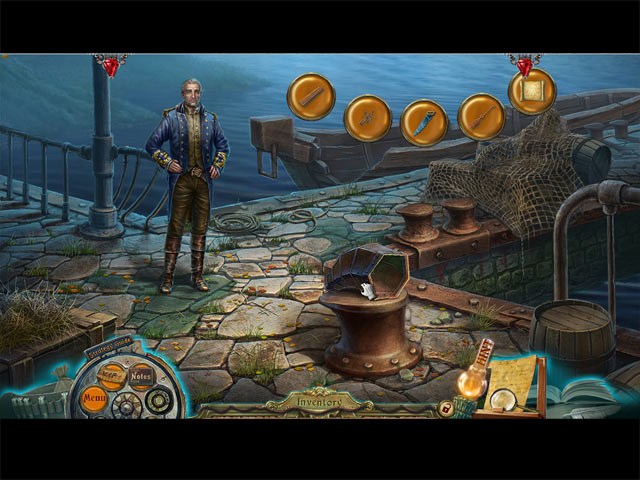 Dark Tales: Edgar Allan Poe's The Mystery of Marie Roget Collector's Edition Game screenshot 1