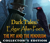 Free Dark Tales: Edgar Allan Poe's The Pit and the Pendulum Collector's Edition Game