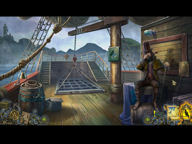 Dark Tales: Edgar Allan Poe's The Pit and the Pendulum Collector's Edition Game screenshot 1