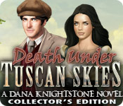 Free Death Under Tuscan Skies: A Dana Knightstone Novel Collector's Edition Game