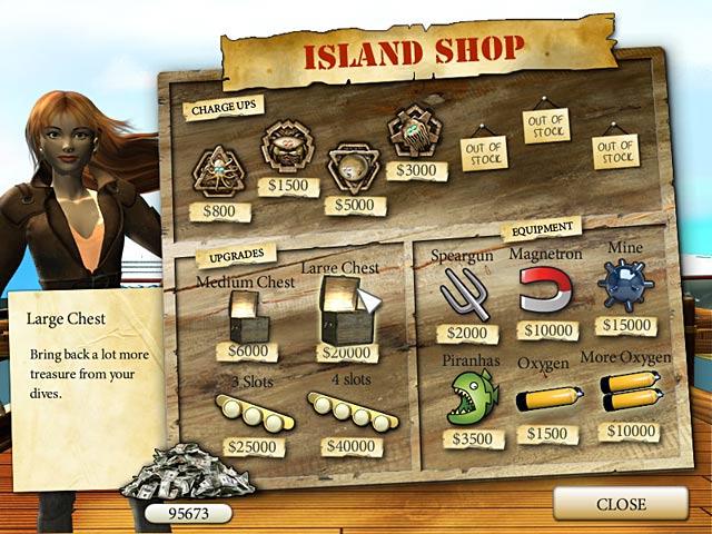 Deep Blue Sea Game screenshot 1