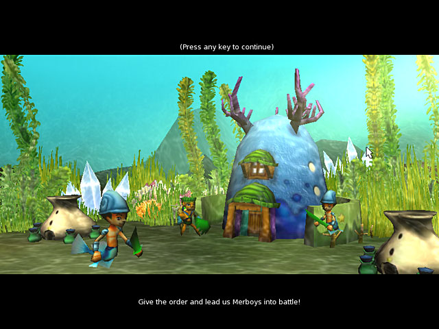 Deep Quest Game screenshot 2