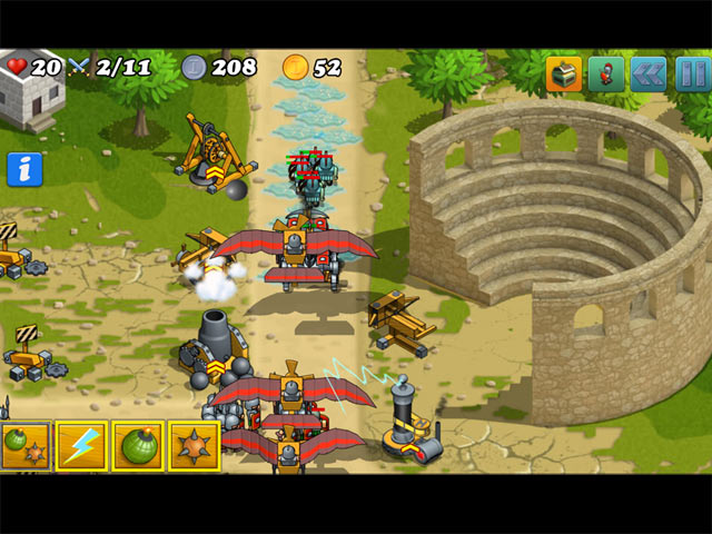 Defense of Greece Game screenshot 3