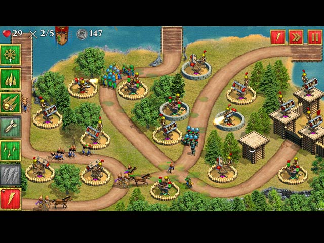 Defense of Roman Britain Game screenshot 1