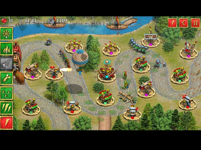 Defense of Roman Britain Game screenshot 3