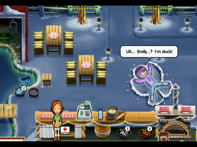 Delicious: Emily's Holiday Season Game screenshot 2