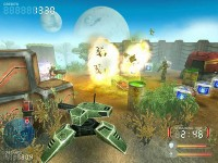 Devastation Zone Troopers Game screenshot 2