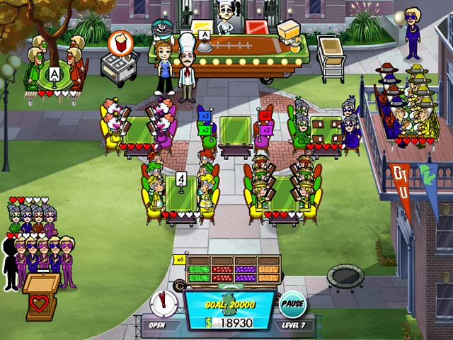 Diner Dash 5: Boom Collector's Edition Game screenshot 2
