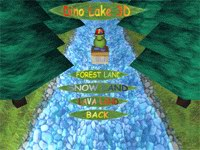 Dino Lake 3D Game screenshot 1