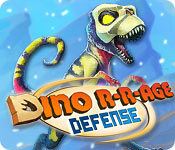Free Dino R-r-age Defense Game