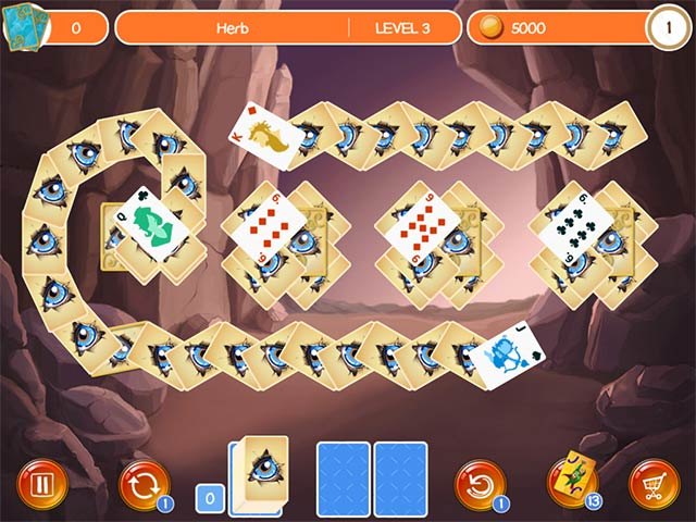 Doodle God Solitaire Game screenshot 3
