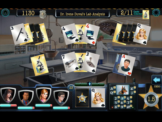 Double Clue: Solitaire Stories Game screenshot 1