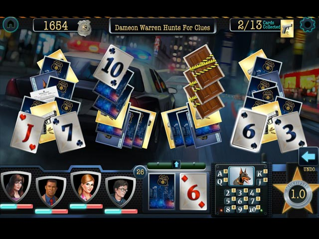 Double Clue: Solitaire Stories Game screenshot 3