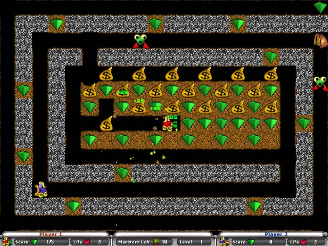 Double Digger Game screenshot 3